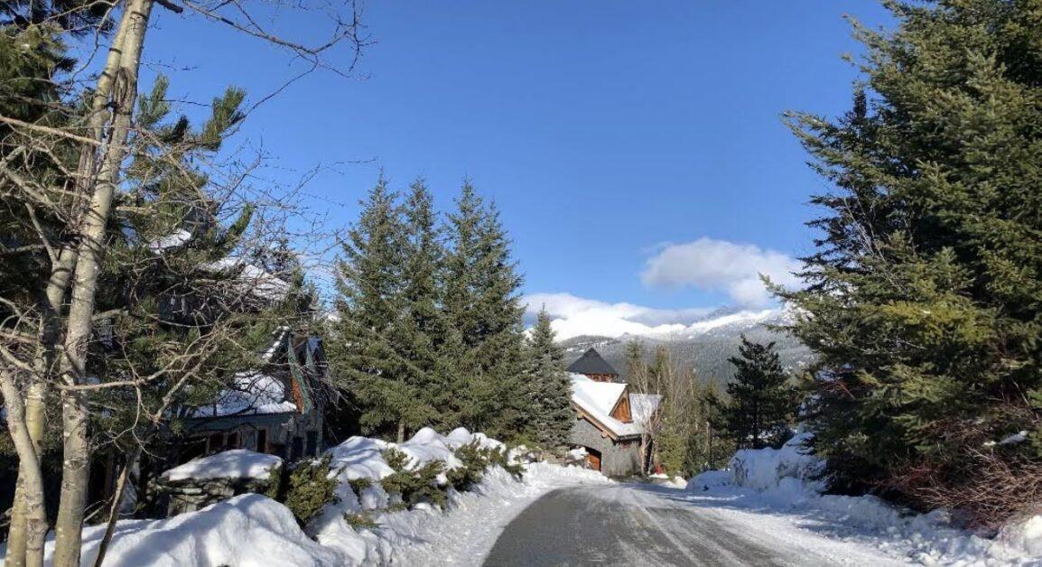Sunridge drive view from top of street