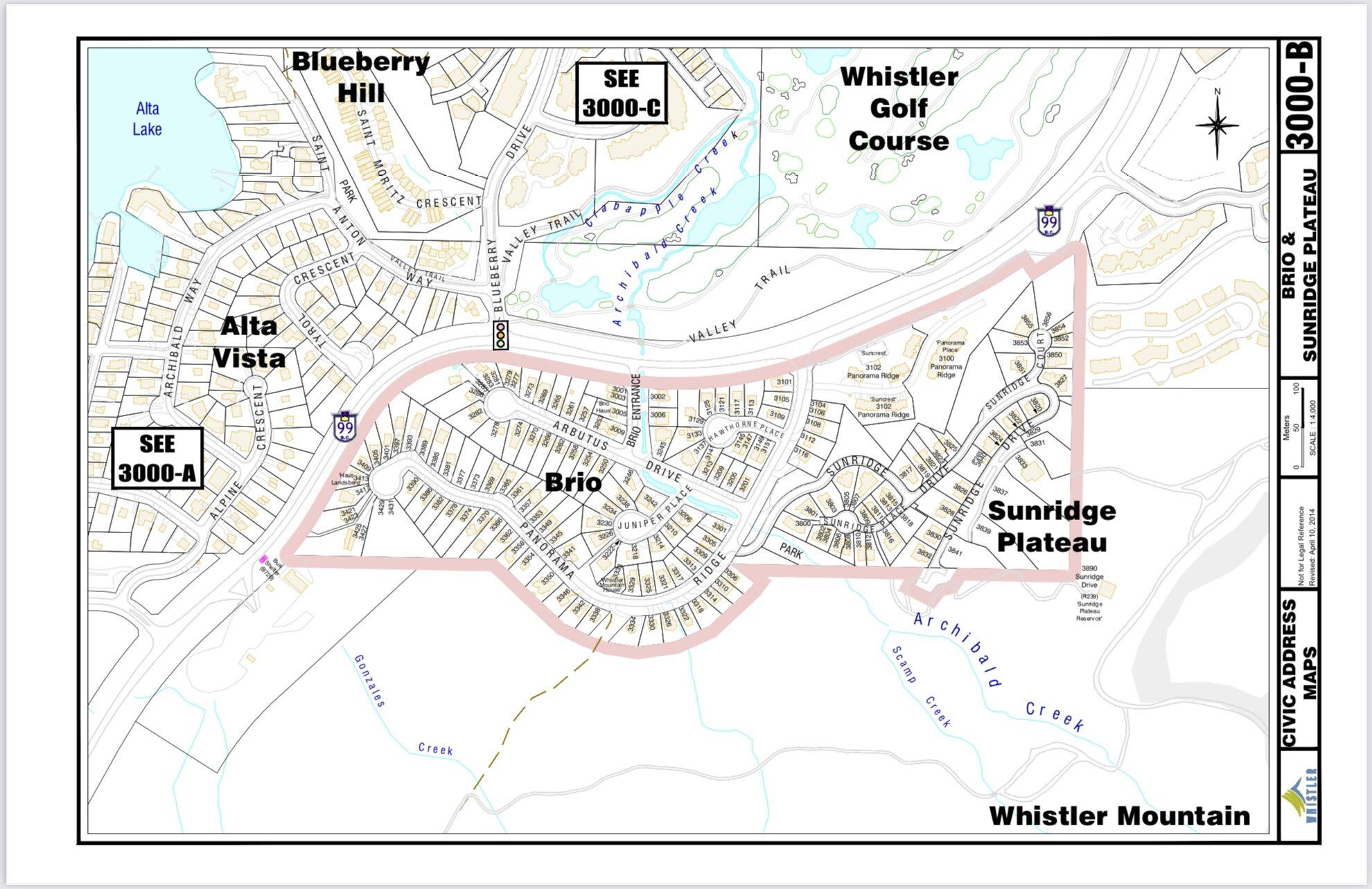 Sunridge civic address