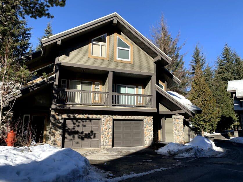 Duplex property at Snowy Creek
