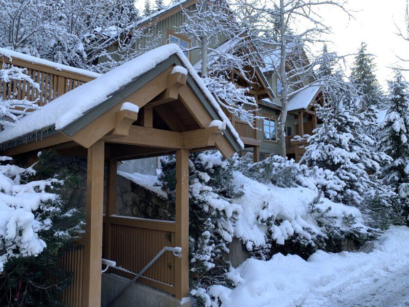 Mountain Star convenient access to parking garage