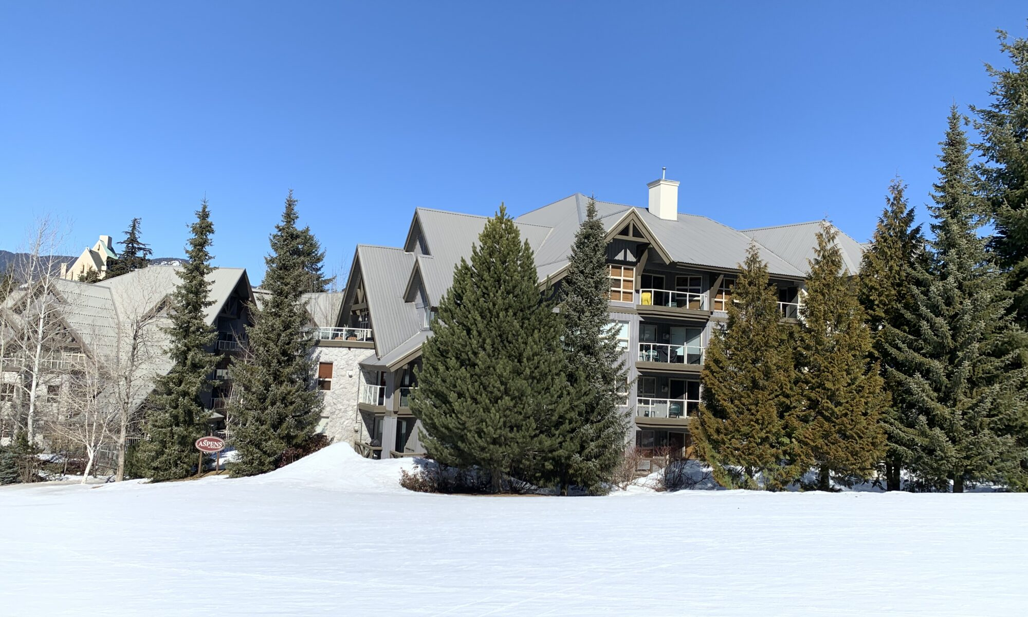 Aspens slopeside condo page