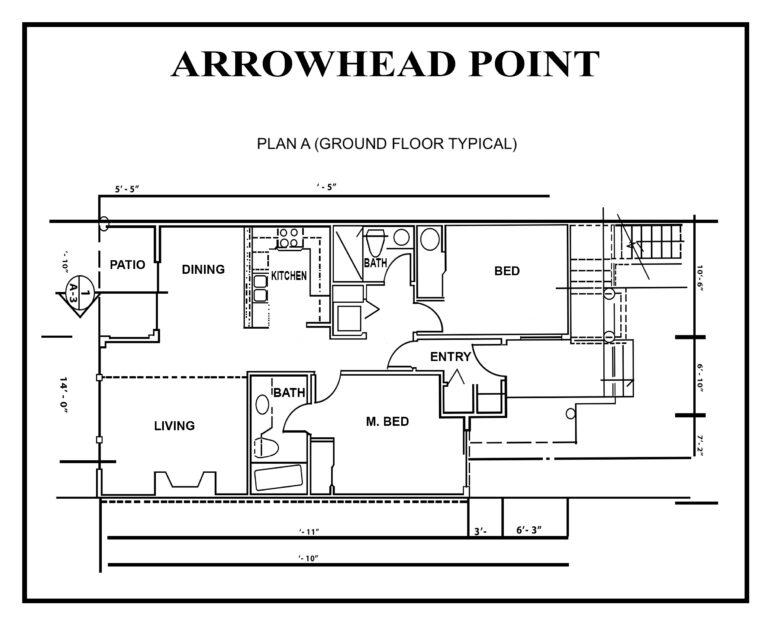 ARROWHEAD point floor-PLAN-A