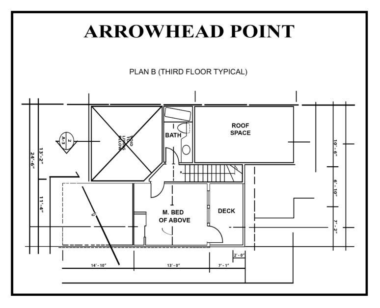 ARROWHEAD Point floor-PLAN-B1