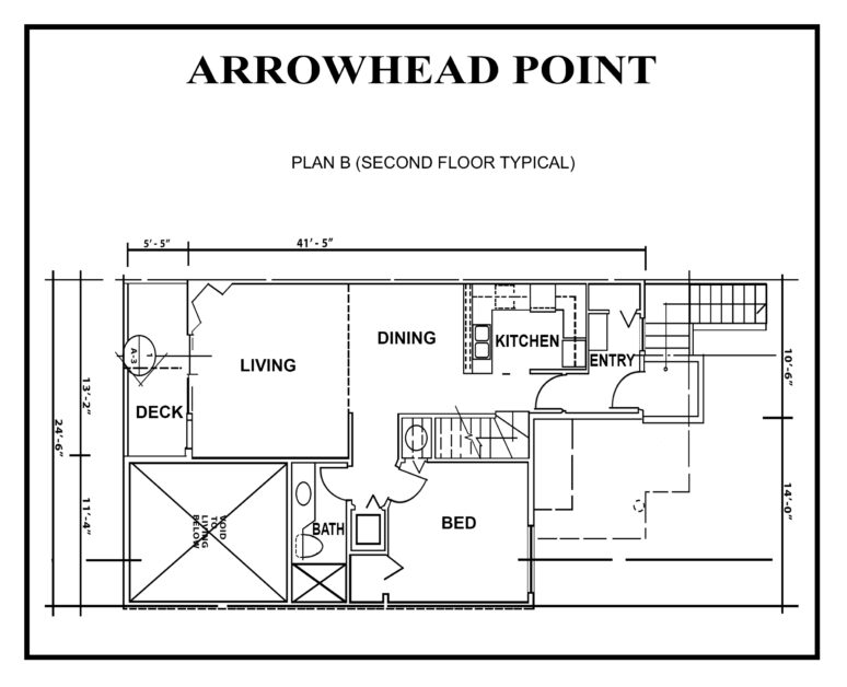 ARROWHEAD-floor PLAN-B2