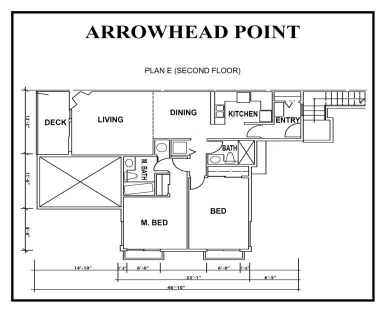 ARROWHEAD point floor-PLAN-E