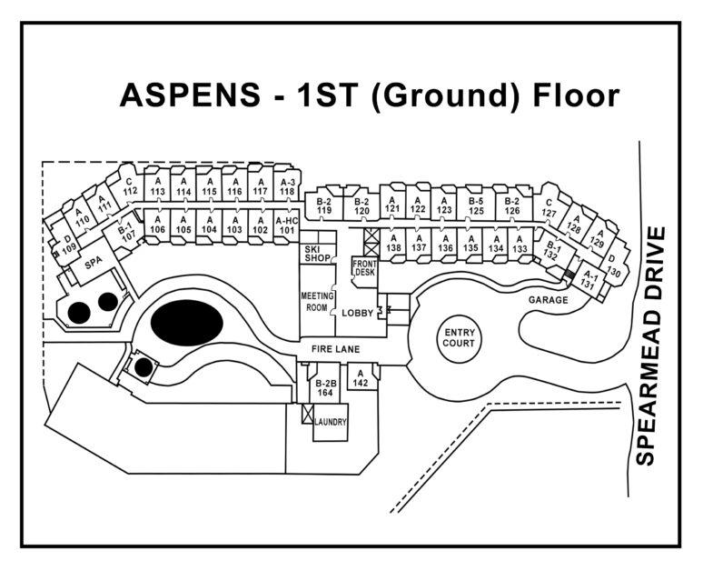 Aspens-1st-Floor plan Unit