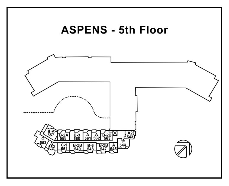 Aspens-5th-floor -With-Unit-Number