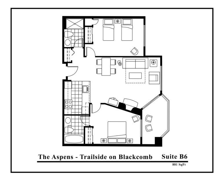 Aspens-Suite-type-B6-2-Bedrooms