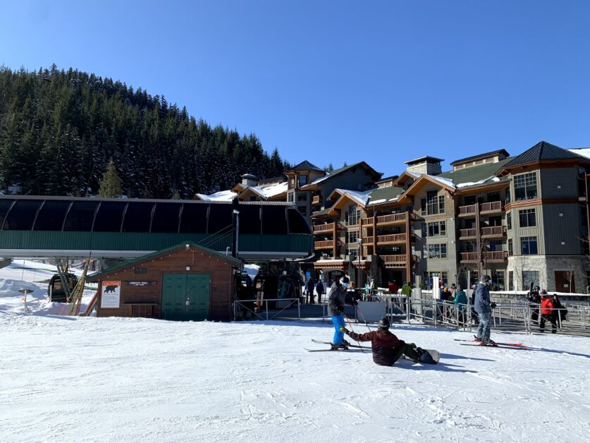 First Tracks Lodge steps from Creekside gondola