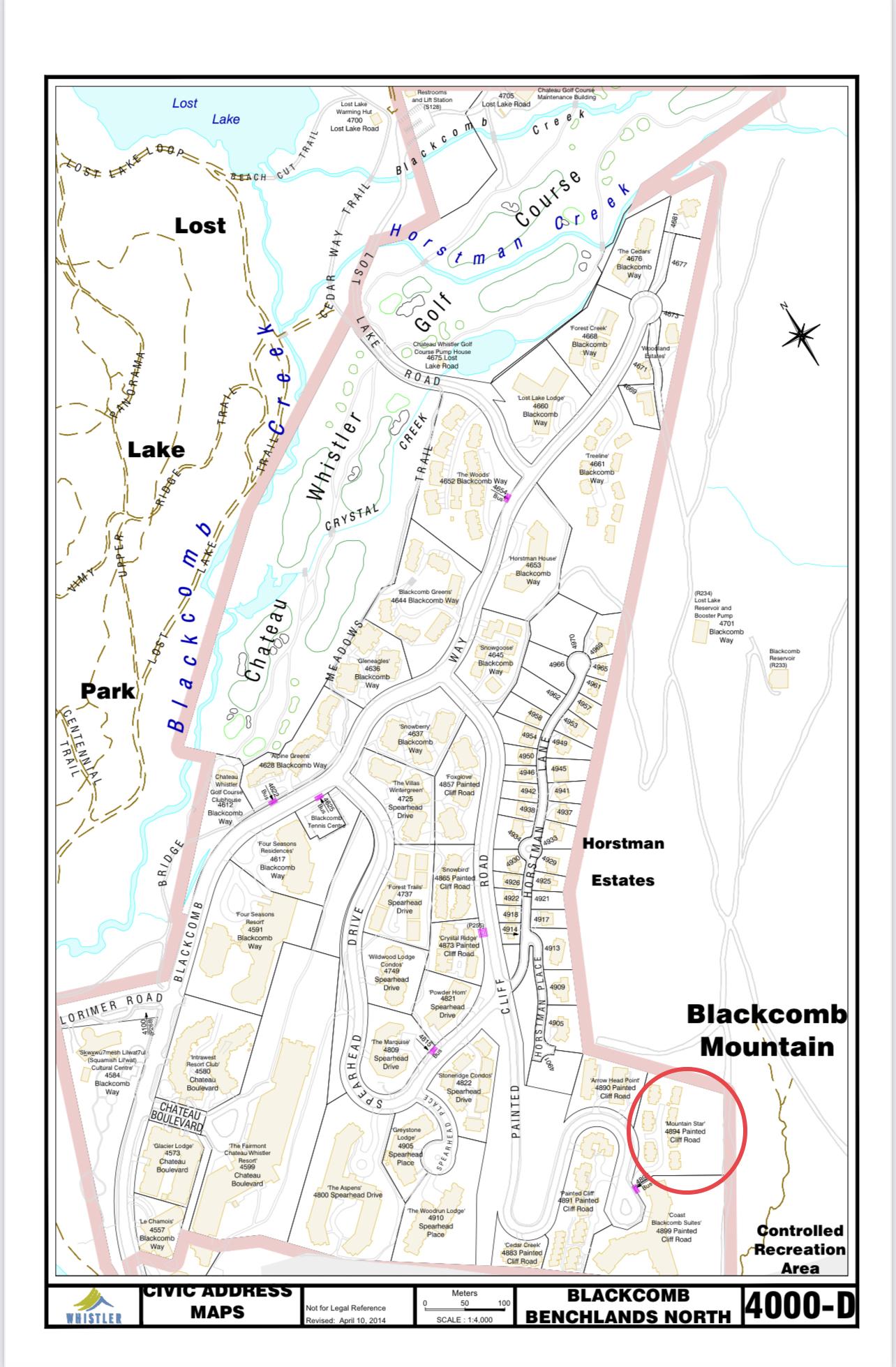 Mountain Star civic address