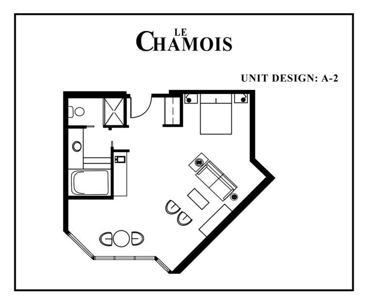 Le-Chamois-Suite A2 floor plan