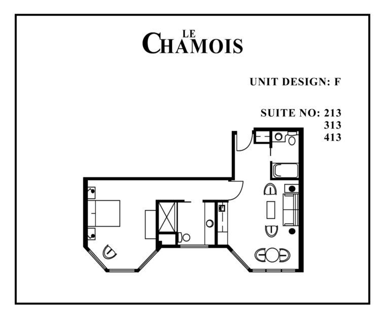 Le-Chamois-Suite-F floor plan