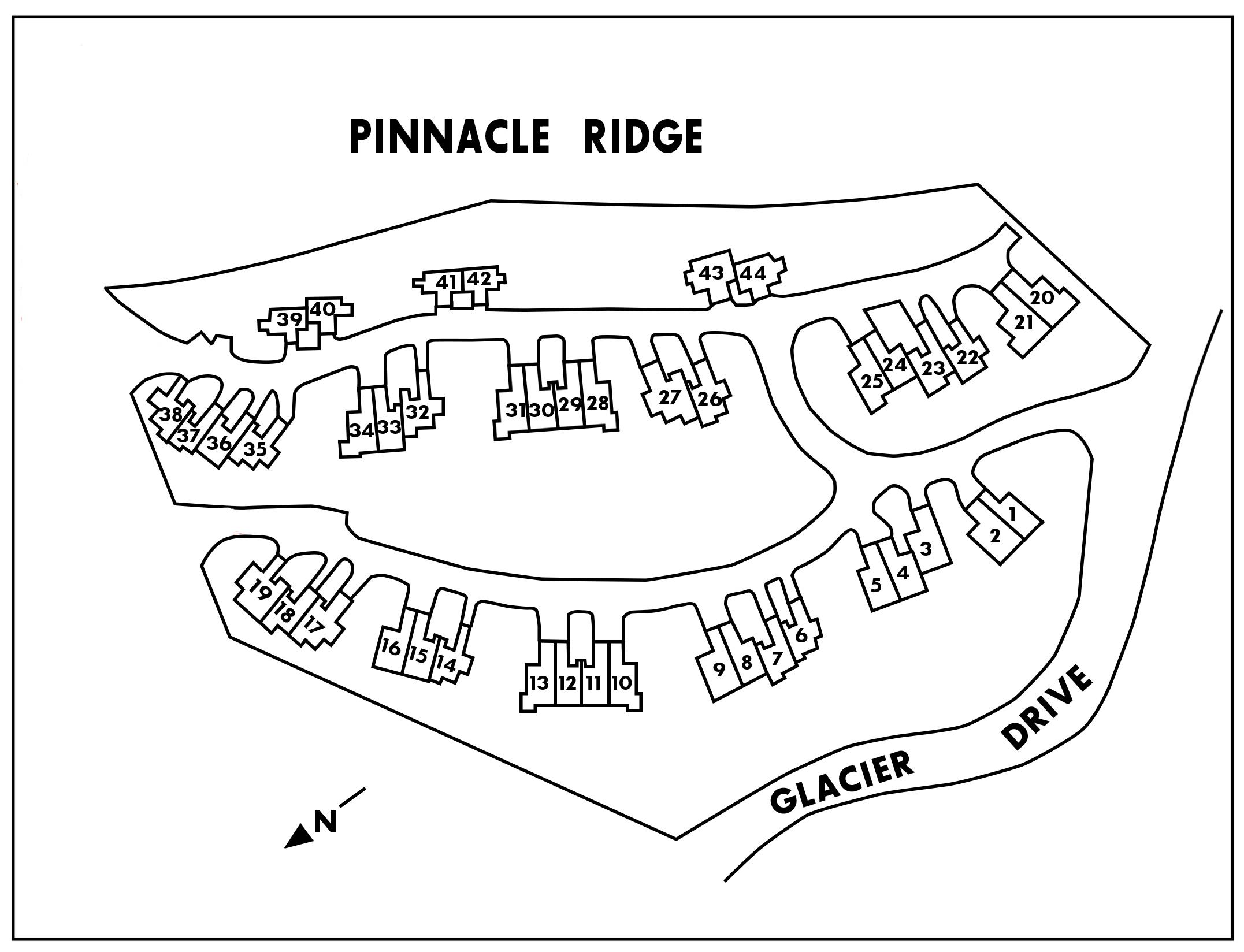 Pinnacle Ridge site plan