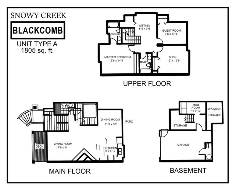 Snowy-Creek-Type-A floor plan