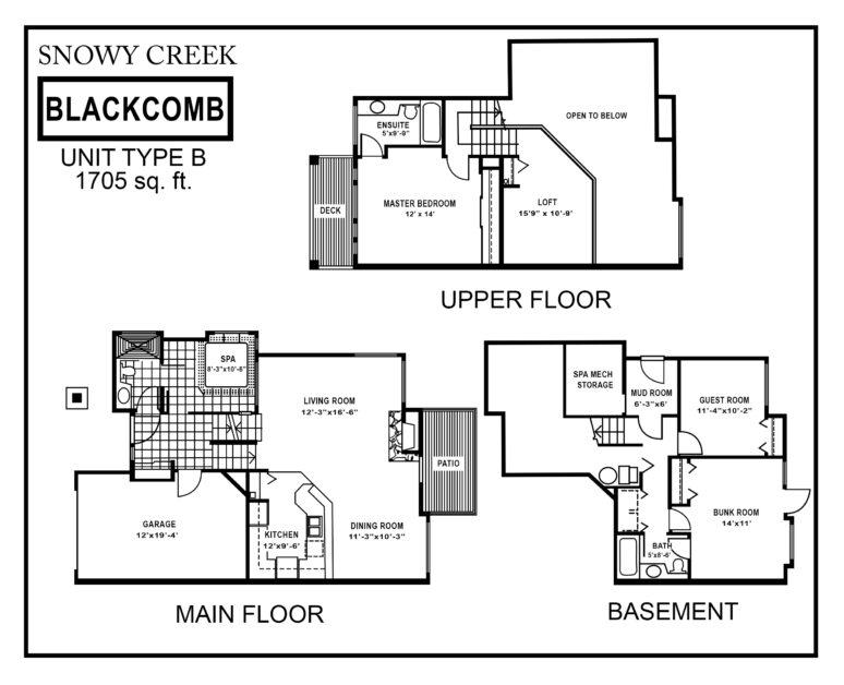 Snowy-Creek-Type-B floor plan