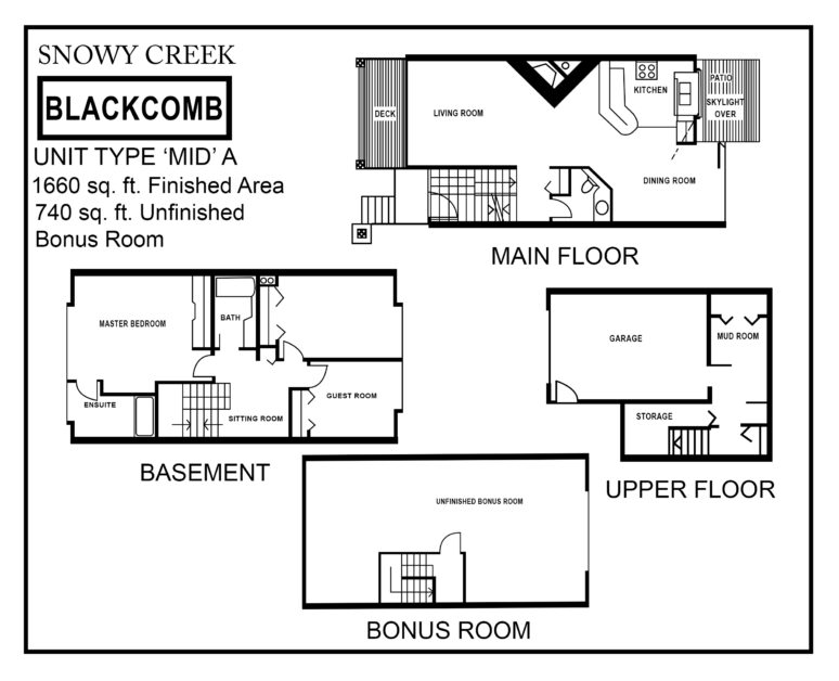 Snowy-Creek-Type-MID A floor plan