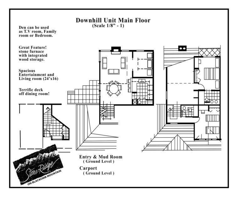 Stoneridge 3 bedroom downhill