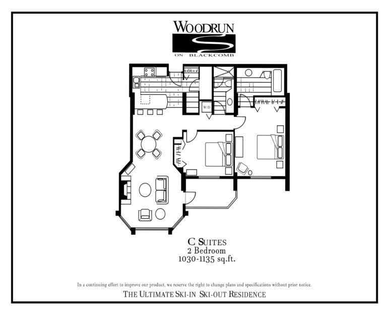 Woodrun Suite C floor plan