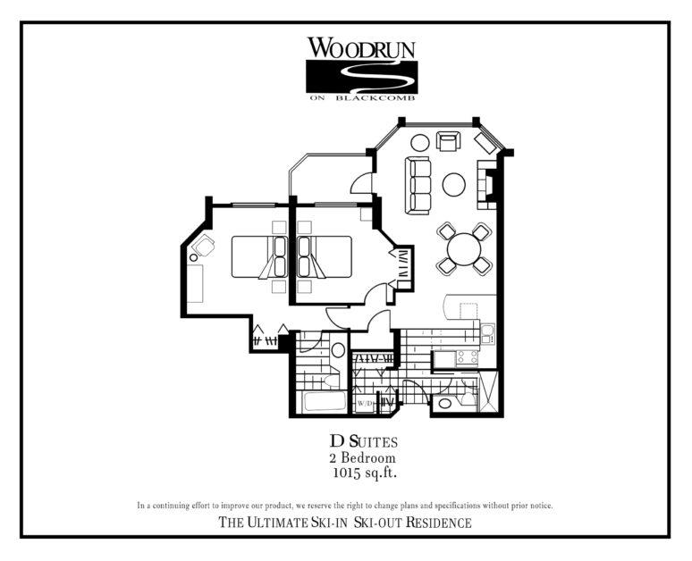 Woodrun Suite D floor plan