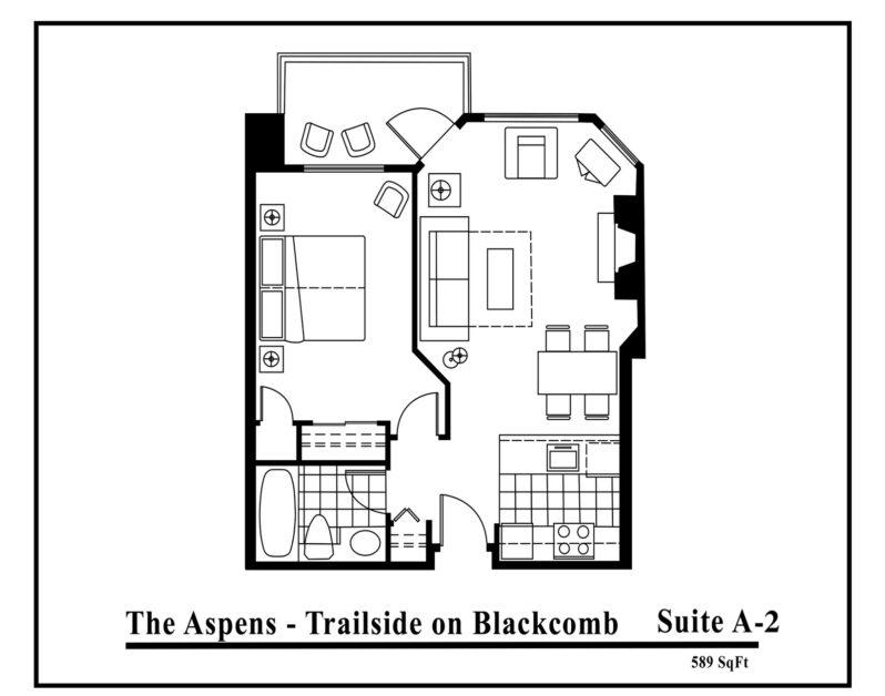 Aspens-suite-type-A2-1 Bedroom
